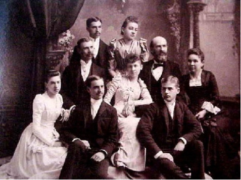 The Houghton Family, late 1800's