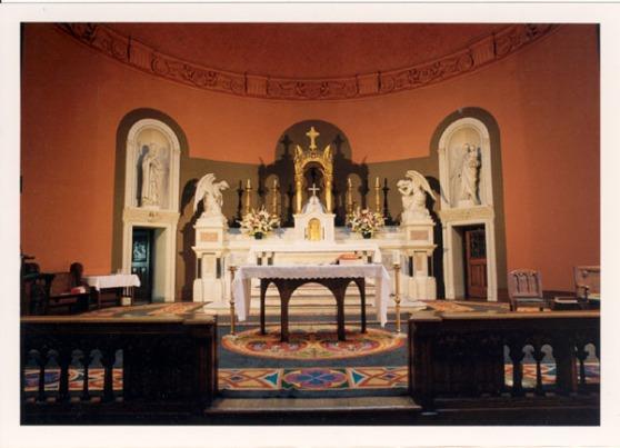 The Altar at St. Brigid's