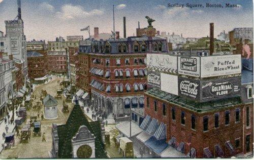 Scollay Square, circa 1912