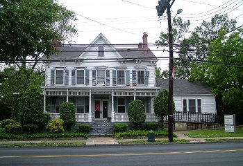 The Forney House, prior to demolition, Milltown, NJ