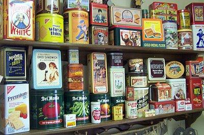 Vintage Product Tins