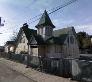 Delmas Church, Before