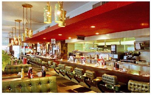 Bob's Big Boy Broiler, Interior. Downey, CA
