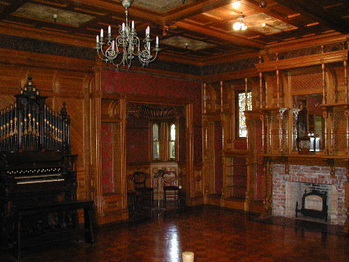 Interior of the Winchester Mystery House