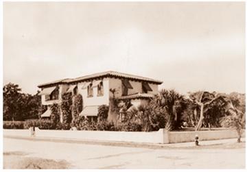 Giles House, Boca Raton, Florida, in happier times