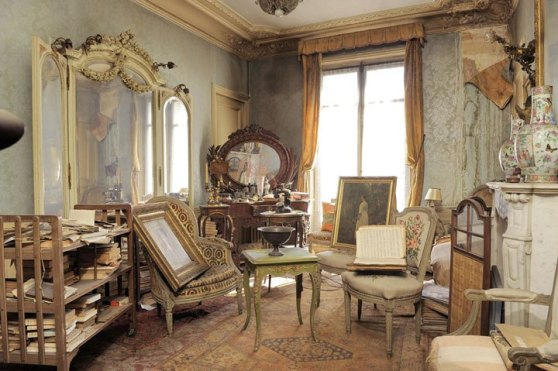 time capsule, apartment, paris, Parisian socialite and actress Marthe de Florian,
