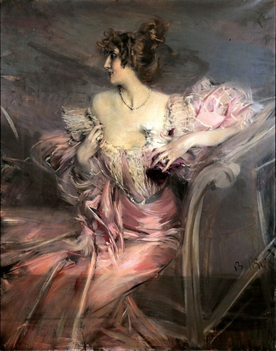 Painting by Italian artist Giovanni Boldini
